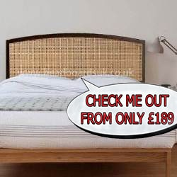 rattan headboards for divan beds