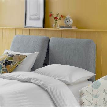 Stuart Jones Relax twin pad fabric headboard.